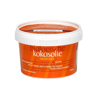 Kokosolie geurloos van Omega & More, 1x 500 ml