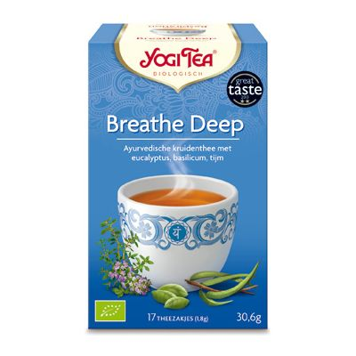 Breathe Deep Tea van Yogi Tea, 6x 17 blt