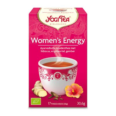 Women`s Energy van Yogi Tea, 6x 17 blt
