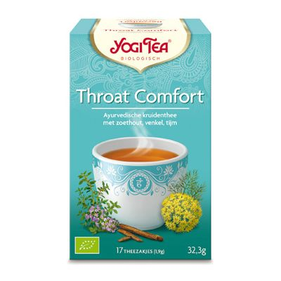 Throat Comfort Tea van Yogi Tea, 6x 17 blt