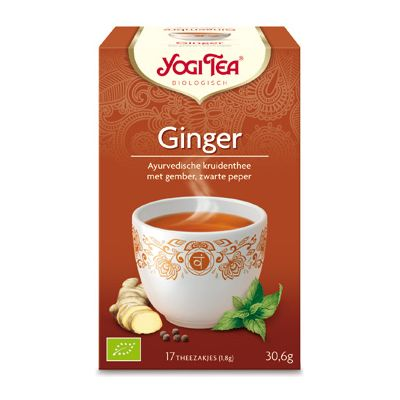 Ginger van Yogi Tea, 6x 17 blt
