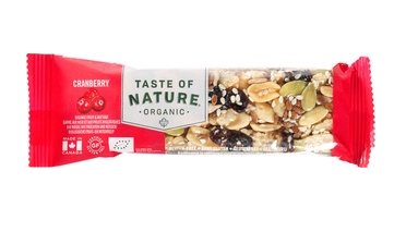 Cranberry van Taste of Nature, 16 x 40 g