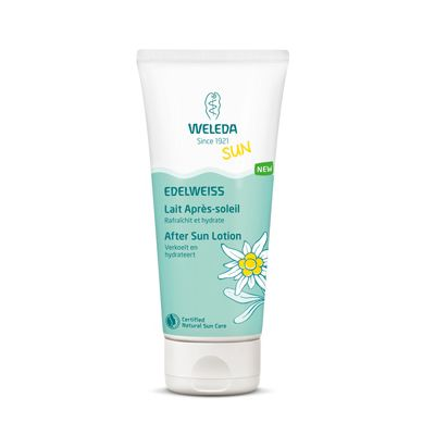 Edelweiss after sun lotion van Weleda, 1 x 200 ml