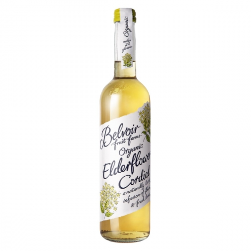 Elderflower cordial van Belvoir, 6 x 500 ml