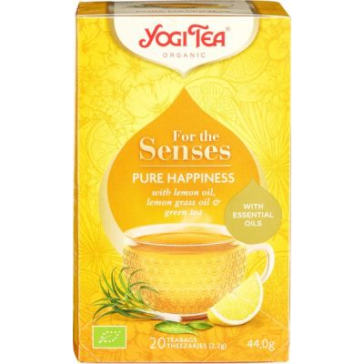 Pure Happiness van Yogi Tea, 6 x 20 builtjes