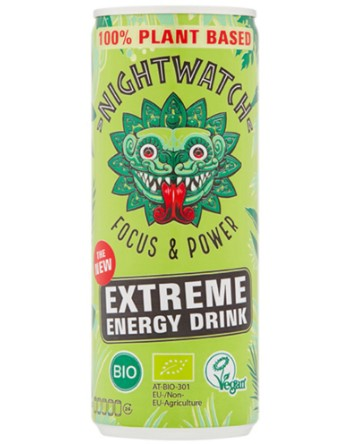 Energy drink blikje van Nightwatch, 12 x 250 ml