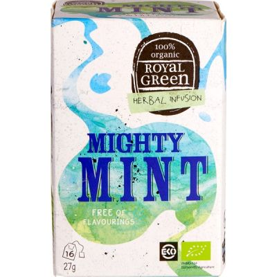 Mighty mint van Royal Green, 4 x 16 builtjes