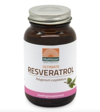 Absolute resveratrol 350mg van Mattisson, 1 x 60 stk
