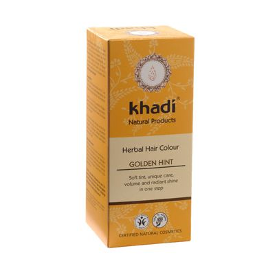 Hair colour golden hint van Khadi, 1x 100 g