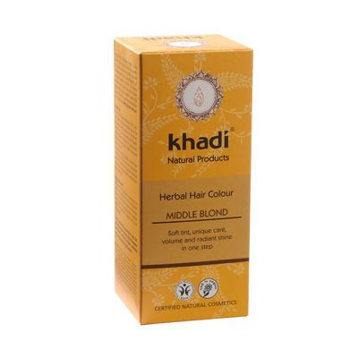 Hair colour middelblond van Khadi, 1x 100 g