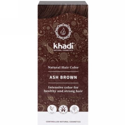 Ash brown hair colour van Khadi, 1 x 100 g
