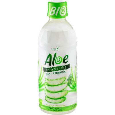 Aloe vera nature van Organic Bloom, 1 x 350 ml