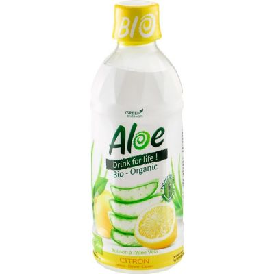 Aloe vera citroen van Organic Bloom, 1 x 350 ml