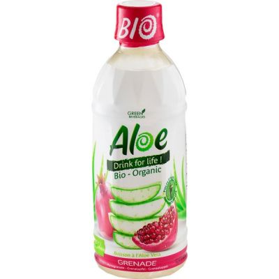 Aloe vera granaatappelsap van Organic Bloom, 1 x 350 ml