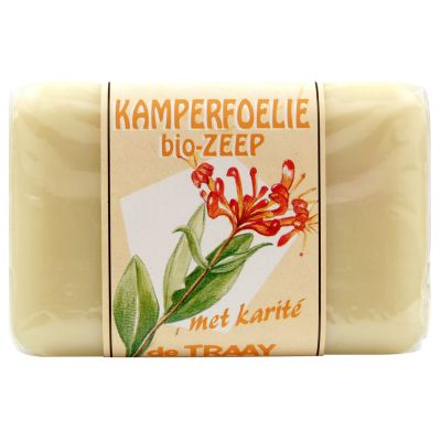Kamperfoeliezeep van de Traay Bee Natural, 1x 250 gr
