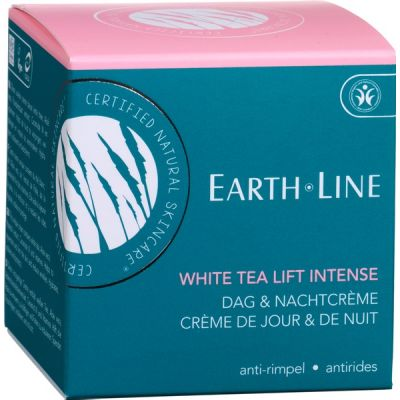White tea lift intense dag & nacht crème van Earth Line, 1x 50ml