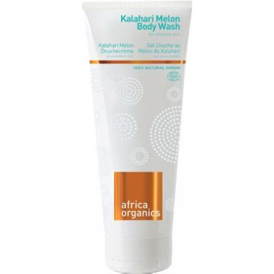 Kalahari Melon Body Wash van Africa Organics, 1x 210 ml.