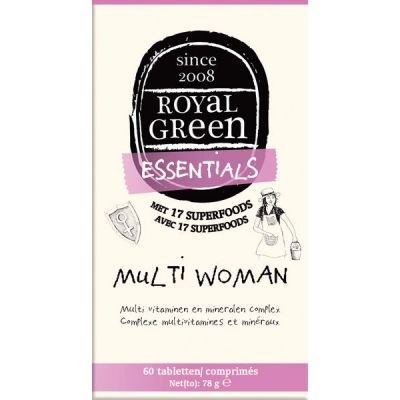 Multi Woman van Royal Green, 1x 60 tabletten.