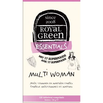 Multi Woman van Royal Green, 1x 120 tabletten.