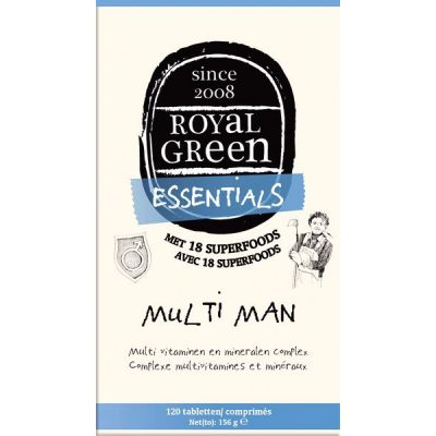 Multi Man van Royal Green, 1x 120 tabletten.