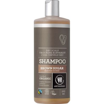 Brown Sugar Shampoo (fair trade) van Urtekram, 1x 500 ml