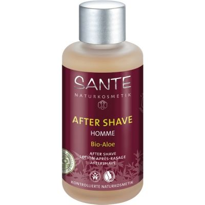 Homme I After Shave Bio-Aloë & Witte Thee van Sante, 1x 100ml.