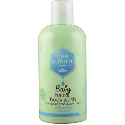 Baby hair & bodywash van Bee Natural, 1x 250 ml