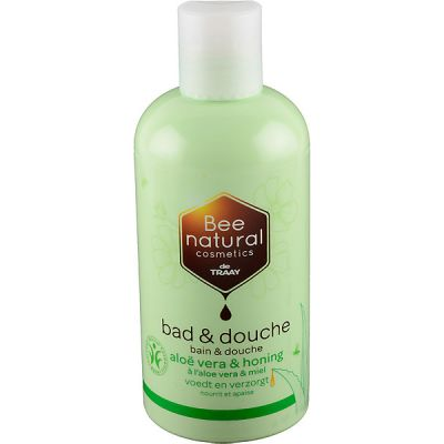 Bad en douche aloë vera & honing van Bee honest 1x250 ml