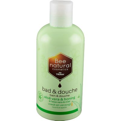 Bad en douche aloë vera & honing van Traay Bee Natural,1x500ml
