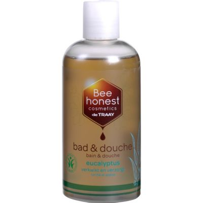 Bad en douche eucalyptus van De Traay Bee Natural, 1x 250 ml