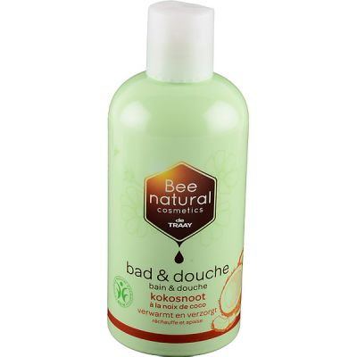 Bad en douche kokosnoot van Bee Natural 1x 500 ml
