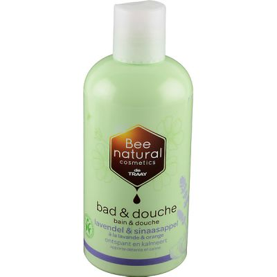 Bad en douche lavendel & sinaasappel van Bee Natural, 1x 250 ml