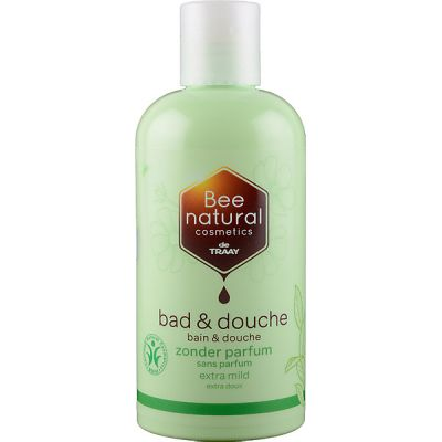 Bad en douche zonder parfum van De Traay Bee Natural, 1x250ml