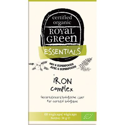 Ironcomplex van Royal Green, 1x 60capsules.
