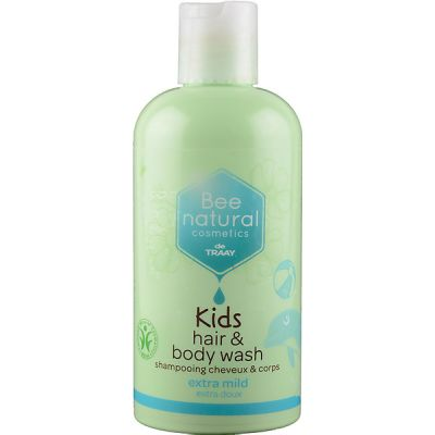 Kids hair and body wash van Bee Honest, 1x 250ml.