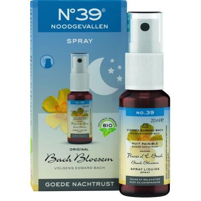 Noodgevallen spray nacht van No.39, 1 x 20 ml