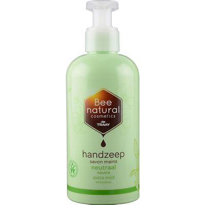 Handzeep neutraal van Bee Honest, 1x 250ml