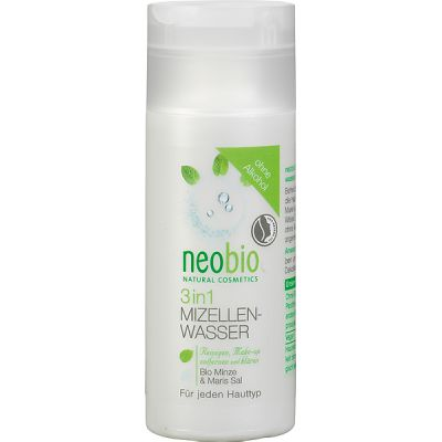 3 in 1 Micellair water van Neobio, 1x 150ml