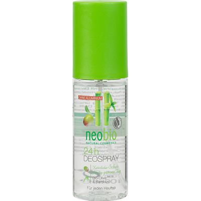 24-h Deospray van Neobio, 1x 100ml