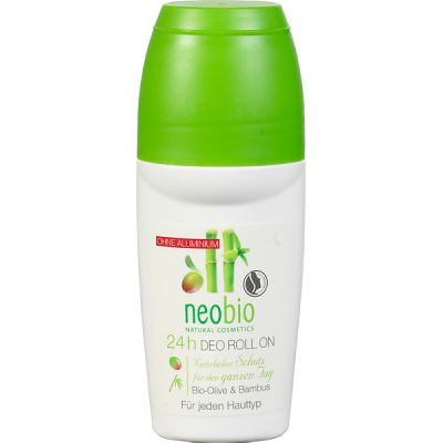 24-h Deo roll on van Neobio, 1x 50ml