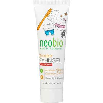Kindertandpasta van Neobio, 1x 50ml