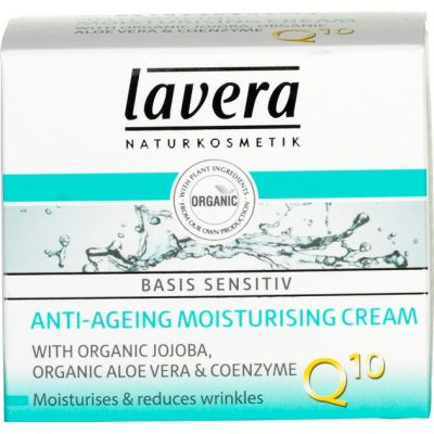Moisturizing Cream Q10 van Lavera, 50 ml.