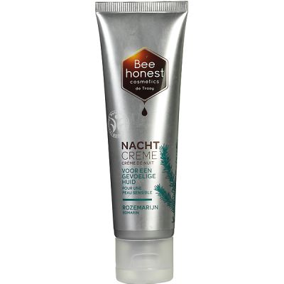 Rozemarijn Nachtcrème van Bee Honest, 1x 50ml.