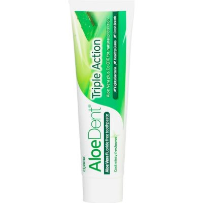 Aloe Vera tandpasta Triple Action van Aloe Dent, 1 x 100 ml