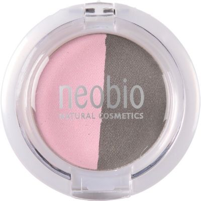 Eyeshadow duo 01 rose diamond van Neobio, 1x 2,5gr