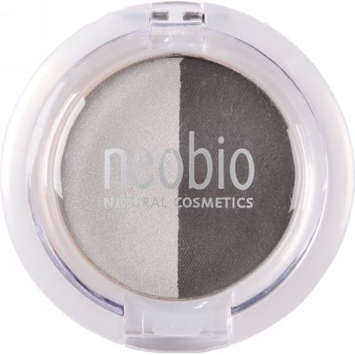 Eyeshadow duo 03 smokey night van Neobio, 1x 2,5gr