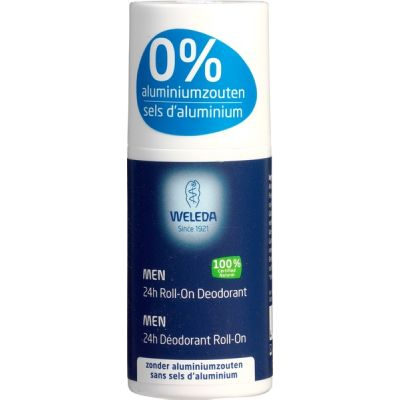 Men 24H roll-on deodorant van Weleda, 1 x 50 ml