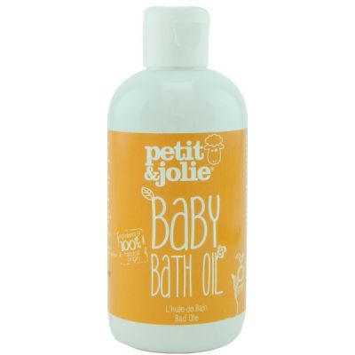 Baby bath oil van Petit & Jolie, 1 x 200 ml