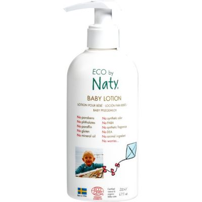Baby lotion van ECO by Naty, 1 x 200 ml