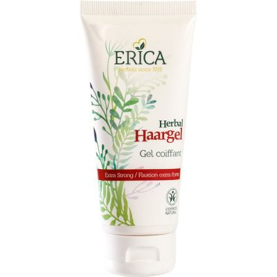 Herbal haargel extra strong van Erica, 1 x 100 ml